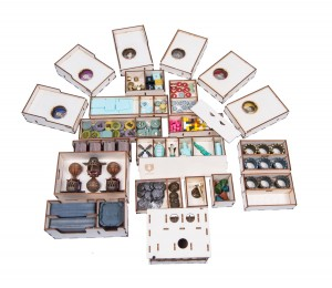 Insert do gry Feudum - Full Bundle Organizer