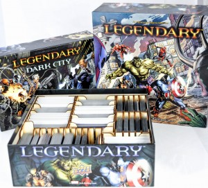 Insert do gry Legendary Marvel