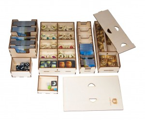 Game organizer for Above and Below