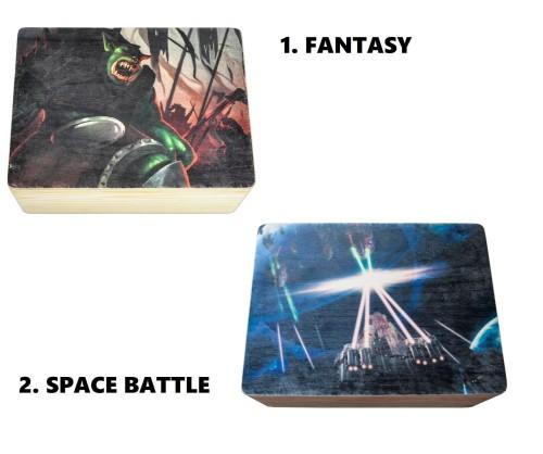 Uniwersalny kufer dedykowany grom Star Realms, oraz Hero Realms
