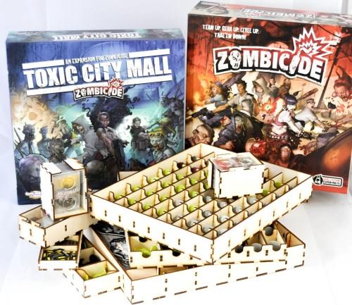 Insert do gry Zombicide oraz dodatku Toxic City Mall