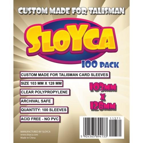 Koszulki na karty Sloyca (103x128mm) Talisman, 100 sztuk
